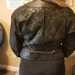 Chia Jackets & Coats - REDUCED-Chia Leather Jacket